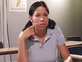 Teachers getting but fucked Horny schoolgirl gets her teacher to fuck her