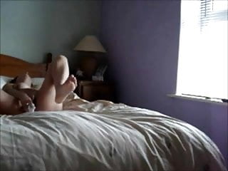 Mature woman on bed - Hidden masturbation woman gets off on bed