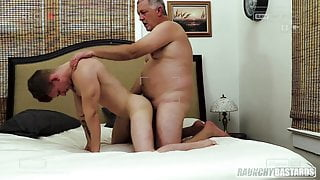 Gay 4 Pay Fit Teen Gets His Virgin Hole Stretched By Daddy
