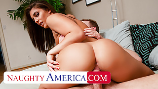 Naughty America - Mischa Brooks can take some huge cock