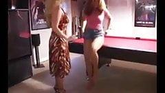 Lesbische Strumpfhosen