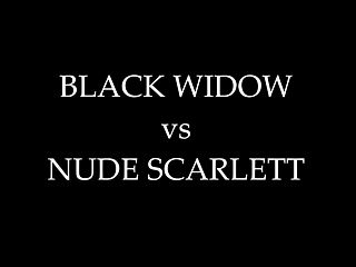 Black widow hentai movie Sekushilover - black widow vs nude scarlett
