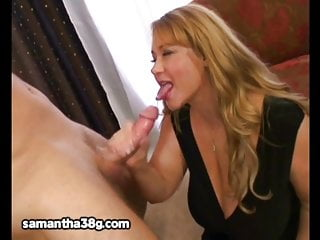 Model bbw Huge tit milf bbw samantha 38g fucks stud model