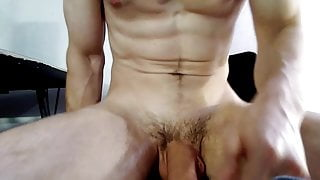Cam Cum: Thick and Creamy Cum from Straight Hunk