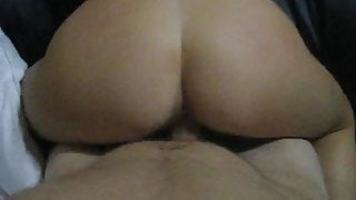College ex GF getting fucked from behind in dormroom