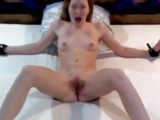 Spread eagle porn - Teen spread eagle tied to bed lovense orgasm