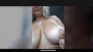 The most delicious mature big boobs taste pussy masturbation