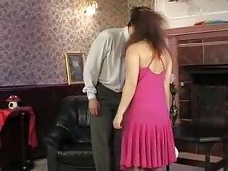 Vintage pink dresses Mature in pink dress