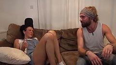 Chav slut fucked by her stepbroter