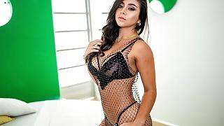 VRLatina - Beautiful Latina Strips And Fucks You