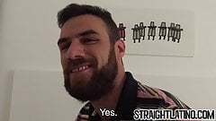 Twinks love being raw penetrated by their bearded lover