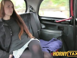 Struggle with shemale porn Hornytaxi struggling student earns extra cash on the backseat