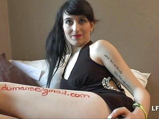 Brunette sperm - Petite brunette francaise adore le sperme bien sodomisee