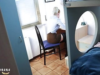 My wifes black cock surprise Surprising my stepsister while studying