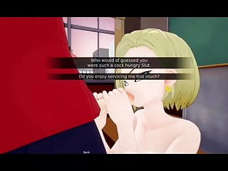 Free dragon ball porn movies Another round with my teacher dragon ball girl android 18