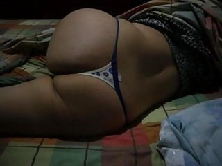 Sexy thong blowjob Harshita in sexy thong lying on bed showing sexy ass