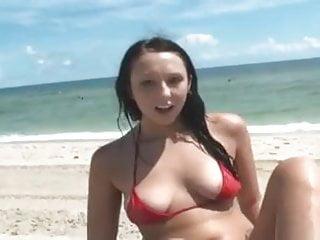 Teen bikini fucks - Fucking not my gf on vacation