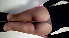 My ass in Nylon Pantyhose, Very Hot