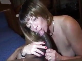Black cock pumped Mature in black stockings cunt pumps bbc