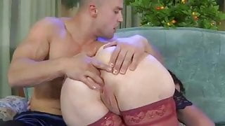 Open her legs for big dick