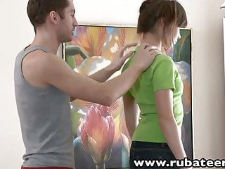 Fyola facial massager Rubateen tall euro teen aliya rubbed fucked facialized