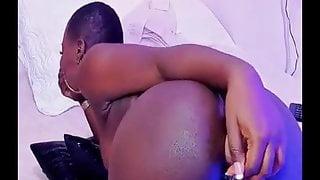 Sexy ebony loves anal part1