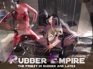 Tight latex pussy bondage Heavy rubber gurls