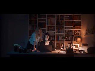 Swedish sex scene in hayloft - Heida reed - lesbian scene in stella blomkvist s01e06