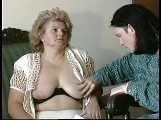 Tounge blowjob Granny award n14 hairy bbw mature with a toung man