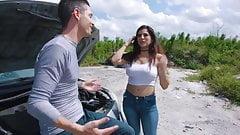 Gabriela Lopez car troubles