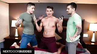 Jake Porter Double Books Himself With 2 Fuck Buddies