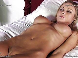 Orgasm induced nausea - Sarah jain - hypno induced self smother