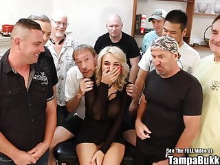 Asia gang fuck Big tit blonde harper wild suck and gang fuck