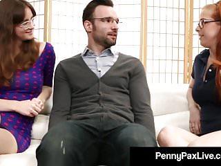 Taylors handjobs - Nerdy girls penny pax jay taylor get banged by alex legend