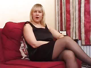 Nina uk mature uk Big tits mature uk blonde does anal