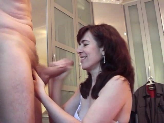 Big cock cum on mature Jessy face and mouth