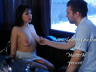Electro stimulation gay torture - Pretty brunette humiliated and electro tortured.