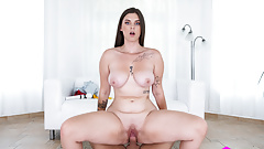 Czech VR Casting 181 - Busty Babe's First VR
