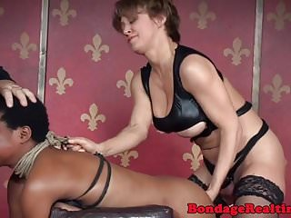 Christian submission dominance sexual Ebony submissive facefucked by dominator duo