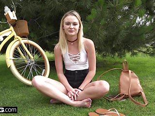 Lick bikes Amateur teen kenzie pov fuck in public bike room