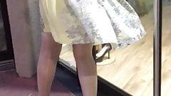 sous la robe avec LL