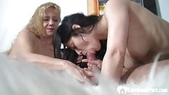 Married muff watches her hubby fucking a beauty.mp4