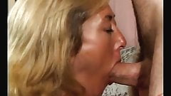 HOT MATURE RHIENA , MILF BEAUTY DRAINS A YOUNG COCK