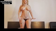 Webcam Slut Stripping In Bedroom