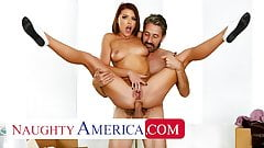 Naughty America - friend's dad anal fucks Adriana Chechik