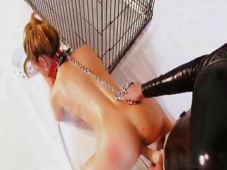 Pet lingerie pattern Sexy lesbian mistress and slavegirl pet