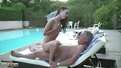 Refreshing Fuck By The Pool with Sasha Sparrow