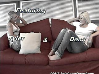 Laughing gas sexy tickle stories Demi tyler play a sexy game of strip tickle