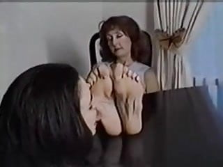Facial wrinkles Girl worships old womans wrinkled feet