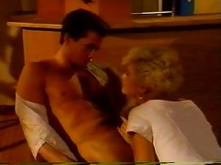 Vintage hot blonde sexy Peter north getting it on a hot blonde
